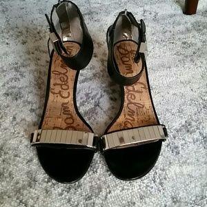Sam Edelman sz 8 wedge sandals